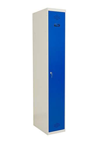 SETROC Taquilla metálica 1 Puerta. Módulo de 1 Cuerpo. Medidas 1800x300x500 mm.