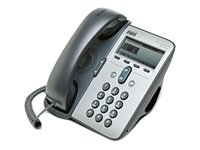 Cisco 7912G IP PHONE WITH CCME USER LICENSE - Teléfono (48 VDC, 0-40 °C, -10-60 °C, Cisco Discovery Protocol Automatic IEEE 802.1q (virtual LAN [VLAN]) configuration Integrated, 900 g, G.711a)