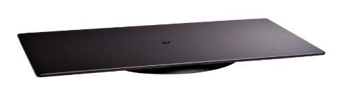 Meliconi Elite M - Plataforma giratoria para TV (360°), Negro