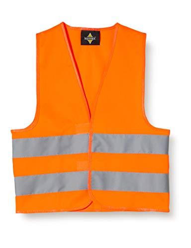 Korntex KWO100XS Standard - Chaleco reflectante para niños, color naranja, talla XS
