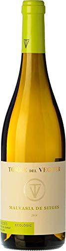 Malvasia de Sitges – Vino Blanco fresco y afrutado, Producción y Vendimia Artesanal. Bodega Torre del Veguer y Denominación de Origen Penedes. 750ml. Regalo original