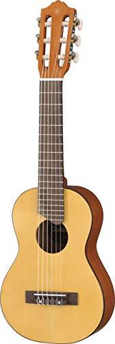 Yamaha GL1 Guitalele - Mini Guitarra de Madera con las dimensiones de un Ukelele, escala de 17 pulgadas, 6 cuerdas (3 en nylon / 3 en acero), Color Natural