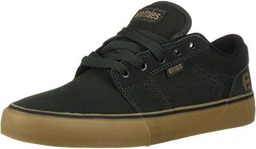 Etnies Barge LS, Zapatillas de Skateboard Hombre, Verde (Green/Gum 327), 41 EU