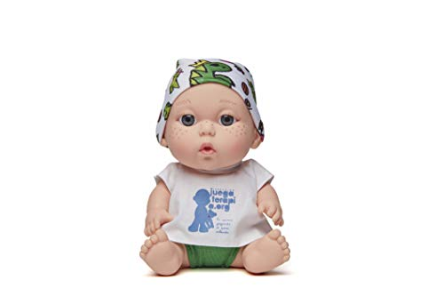 Juegaterapia Muñeco Baby Pelón, Diseñado por Sara Carbonero, Juguete Solidario con Olor a Vainilla, color, 20 x 10 x 20 cm Arias 182
