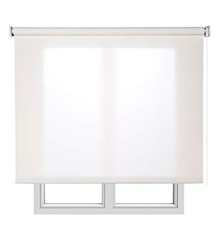Estores Basic 14431 - Estor Enrollable, Blanco, 120 x 180 cm, 1 Unidad