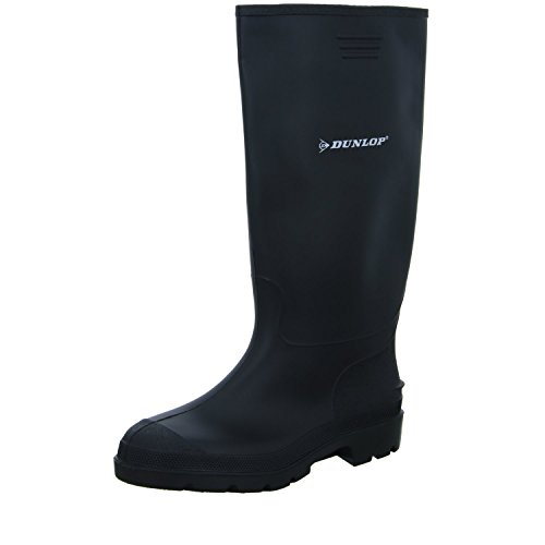 Dunlop BBB10, Botas de Agua Unisex Adultos, Negro (Black 002), 42 EU