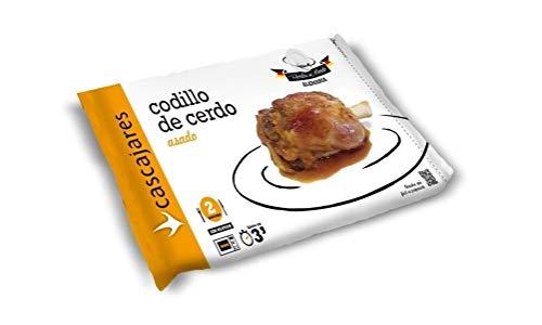 CASCAJARES - Codillo de Cerdo Asado, perfecto para dos personas, calentar en horno o microondas. Sin gluten.