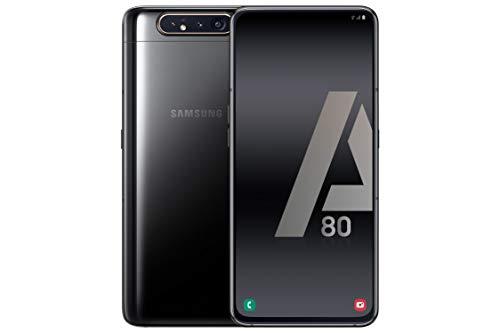Samsung Galaxy A80 Smartphone de 6.7' FHD+ (Pantalla Infinita, 8 GB RAM, 128 GB ROM, versión española) Negro