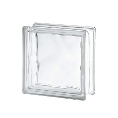 VITROLAND 621019 Bloque de Vidrio, Transparente