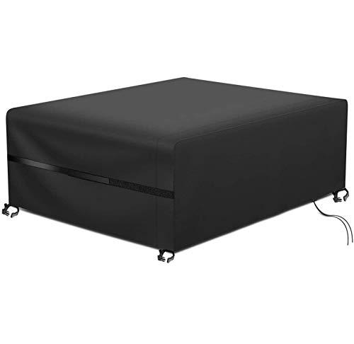 RATEL Protectora para Muebles de jardín, Funda para Muebles de Jardín Impermeable a Prueba de Viento Paño Oxford 420D Cubierta de Mesa de jardín Grandes(200x160x70cm)