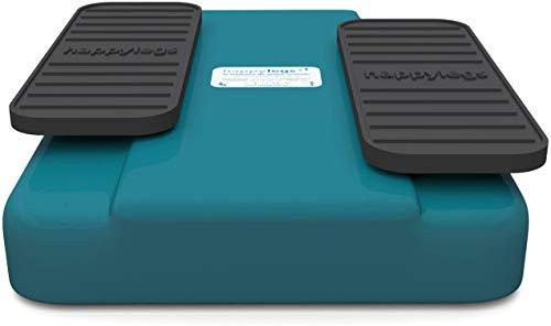 Happylegs - Ejercitador de Piernas Gimnasia Pasiva para Mayores y Jóvenes Apto para Rehabilitación. La Máquina de Andar Sentado que Ayuda a Mejorar la Circulación. (Azul)