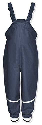 Playshoes Regenlatzhose, Pantalones para Niños, Azul (Marino), 2-3 años/98 cm