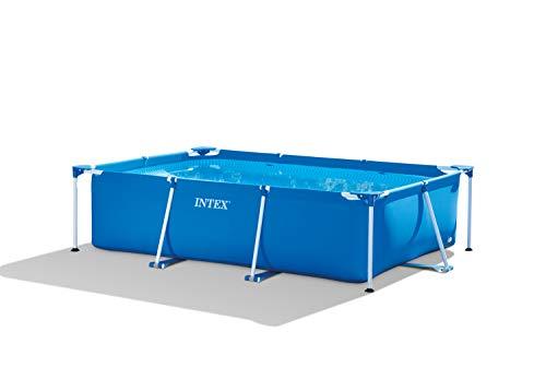 Intex 28272NP Small Frame - Piscina desmontable, 300 x 200 x 75 cm, 3.834 litros, azul