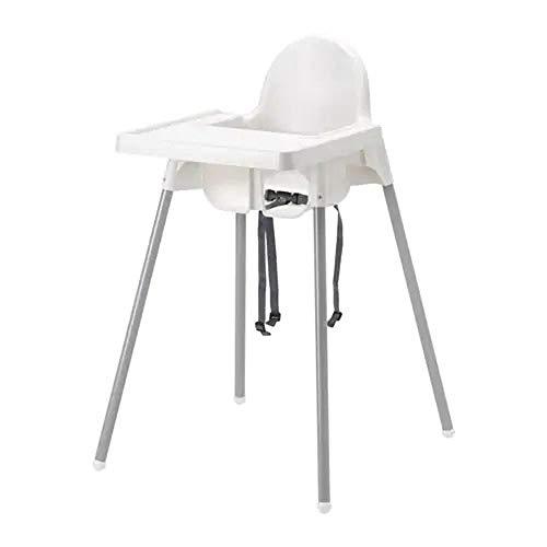 IKEA Antilop - Trona con bandeja, color blanco