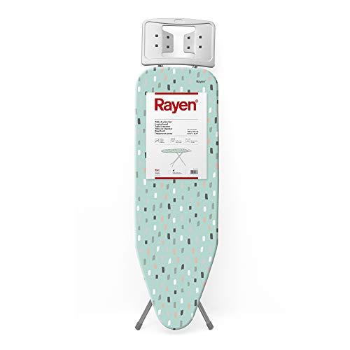 Rayen | Tabla de planchar | Gama Basic | Tabla con malla metálica | Altura regulable | Reposa - Planchas | Medidas: 38 X 120 cm
