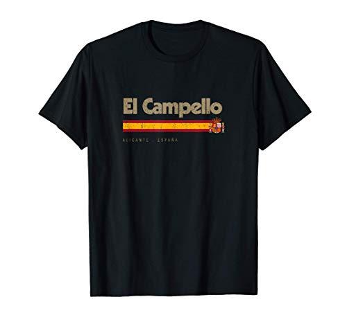 El Campello Ciudad Española Vintage Bandera España Camiseta