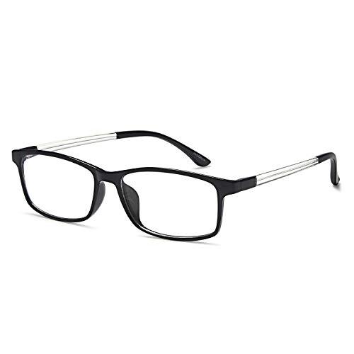 VVDQELLA Gafas Presbicia 1.5 en TR90 Ligeras y Calidad Contra Luz Azul & UV Evita la Fatiga Ocular Reading Glasses Eficiente para PC, Smartphone, TV, con Funda