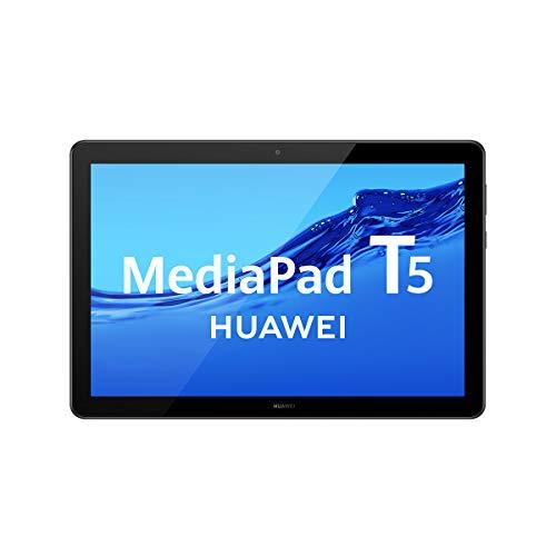 HUAWEI Mediapad T5 - Tablet de 10.1' FullHD (Wi-Fi, RAM de 2GB, ROM de 32GB, Android 8.0, EMUI 8.0), color Negro