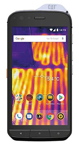 CAT PHONES S61 5.2' SIM Doble 4G 4GB 64GB 4500mAh Negro - Smartphone (13,2 cm (5.2'), 64 GB, 16 MP, Android, Oreo, Negro), negro