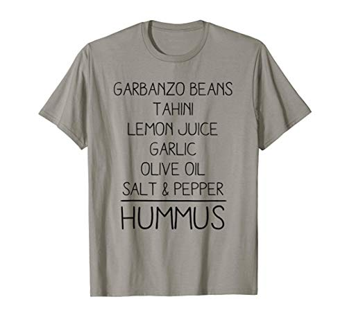 Hummus Ingredientes Frijoles Tahini Cute Food Camiseta