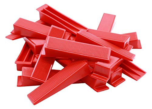 Bauhandel24-200 - Cuñas para colocar baldosas, sistema de nivelación, ayuda de instalación, cuñas de montaje, herramientas para azulejos