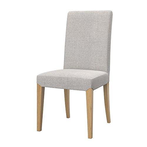 Soferia Funda de Repuesto para IKEA HENRIKSDAL Funda Silla, Tela Naturel Beige, Beige