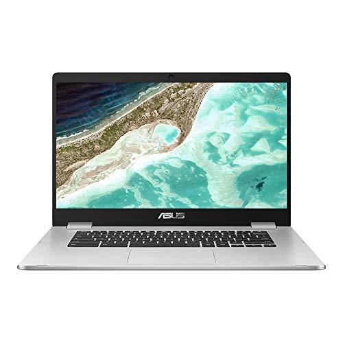 ASUS Chromebook Z1400CN-BV0306 - Ordenador portátil de 14' HD (Intel Celeron N3350, 4GB RAM, 32GB EMMC, Intel HD Graphics 500, Chrome OS) Plata - Teclado QWERTY Español