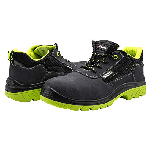 Bellota 7231042S1P Zapato de Seguridad, Negro Verde, 42 eu