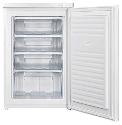 Sauber - Congelador Vertical SERIE 3-84V - 4 Cajones - F - Alto: 85cm - Color Blanco