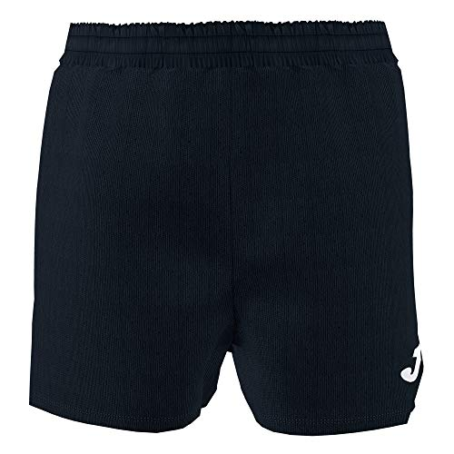 Joma Treviso Pantalones Cortos Equipamiento, Hombre, Negro, L