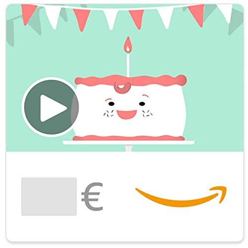 Cheques Regalo de Amazon.es - E-mail - Traje de cumpleaños (animación)