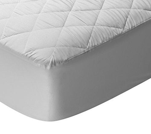 Pikolin Home - Protector de colchón, cubre colchón acolchado, impermeable, antiácaros, 90 x 190/200 cm - Cama 90 (Todas las medidas)