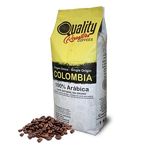 Café en grano natural. 100% Arabica. Origen único Colombia, 1kg. Tostado artesanal.