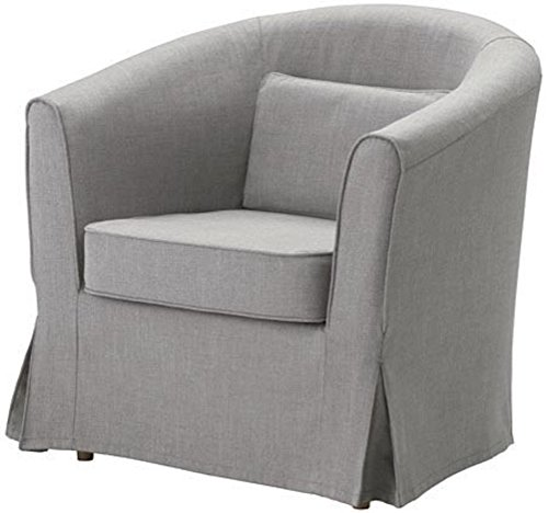 Cubierta / Funda solamente! ¡El sofá no está incluido! La Ektorp Tullsta Funda para Silla de Repuesto es Fabricada a Medida para IKEA TULLSTA Funda sillón, una Funda para sofá de Repuesto