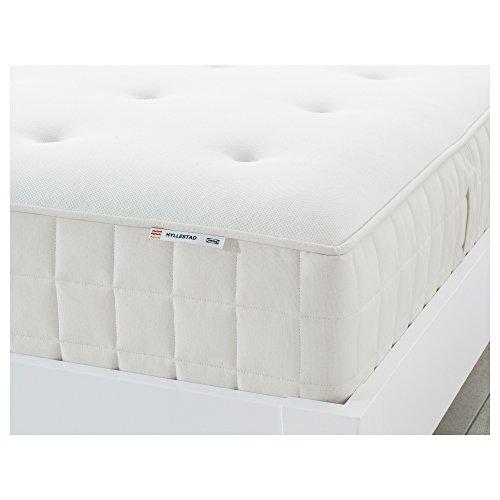 HYLLESTAD Colchón de muelles ensacados 140x200 cm Medium Firme/Blanco