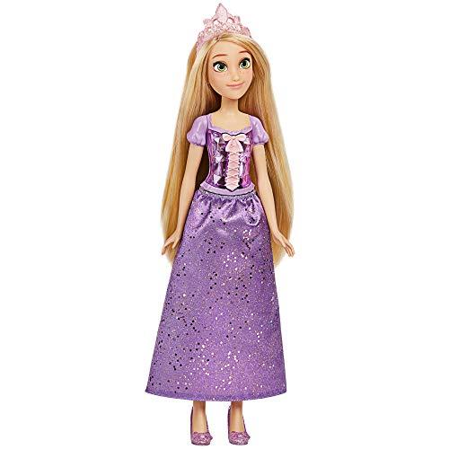Disney Princess Muñeca de Rapunzel Royal Shimmer, muñeca con Falda y Accesorios, Juguetes para niñas a Partir de 3 años