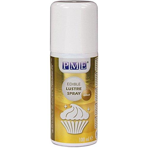 Spray Lustre Comestible PME Oro 100 ml