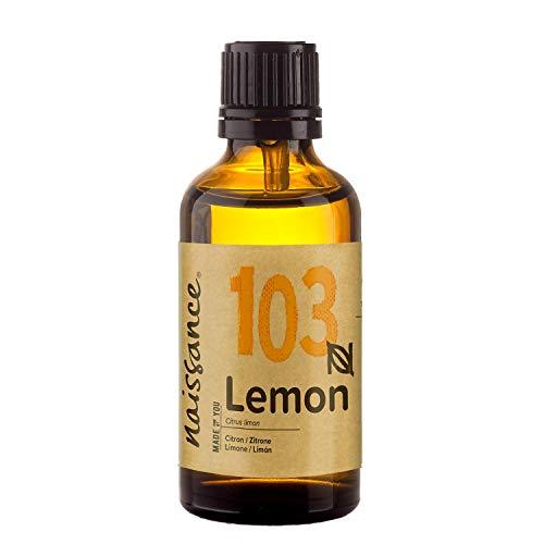 Naissance Aceite Esencial de Limón n. º 103 – 50ml - 100% puro, vegano y no OGM