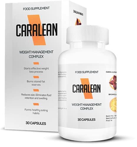 CARALEAN 100% Natural 30 capsulas www.libertaz.net