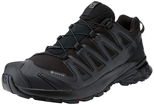 Salomon XA Pro 3D V8 GTX, Zapatillas Impermeables de Trail Running y Senderismo Mujer, Negro (Black/Black/Phantom), 39 1/3 EU