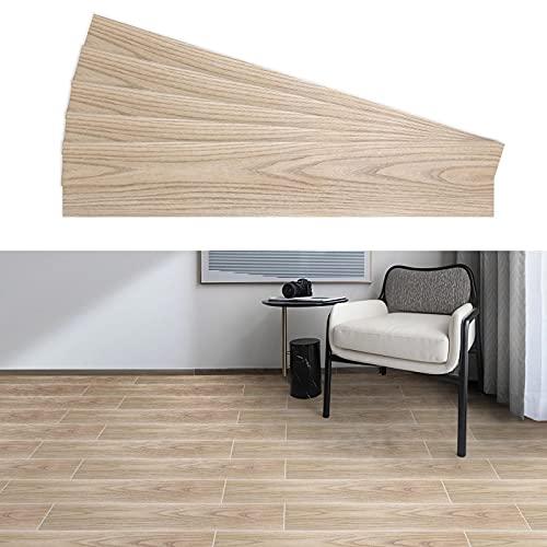 Revestimiento de suelo de PVC autoadhesivo resistente a los arañazos 2,7 m² / 20 unidades, suelo de madera de vinilo antideslizante, lámina para suelos de tablones