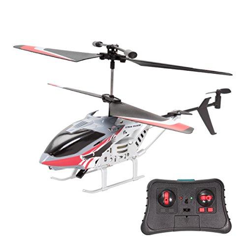 Xtrem Raiders- Heli Condor, Juguete, teledirigidos, radiocontrol, Aviones a Control Remoto, helicopteros RC, Color Rojo/Gris (World Brands XT280772)