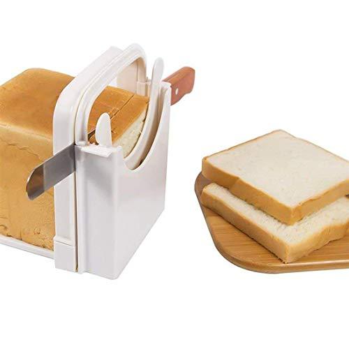 Nother Rebanador de Pan, rebanador de Pan Plegable, rebanador de Pan para sándwich casero, rápido y Seguro para Herramientas de Cocina y Gadgets