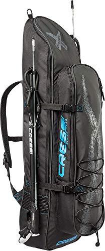 Cressi Piovra Fins Backpack XL Mochila para Equipo de Pesca Deportiva, Unisex-Adult, Negro