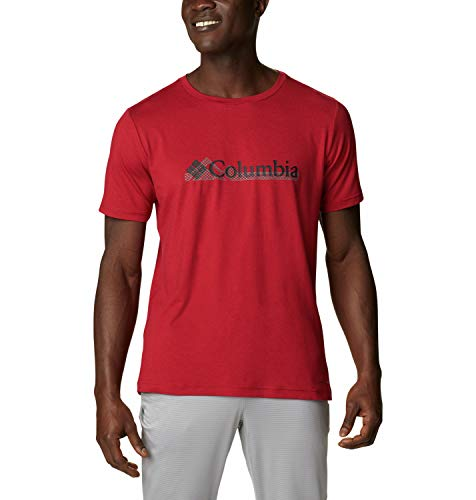 Columbia Tech Trail Camiseta estampada de manga corta para hombre