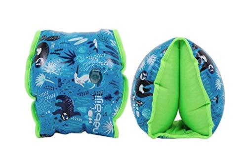 Nabaiji - Manguitos hinchables para niños (15-30 kg, interior de tejido)