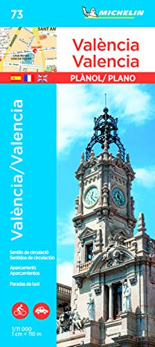 Plano València/Valencia: City Plans (Planos Michelin)