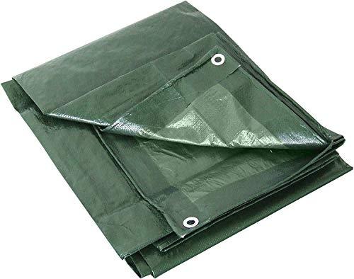 Labor 0300151 - Lona de PVC reforzada con ojales, verde