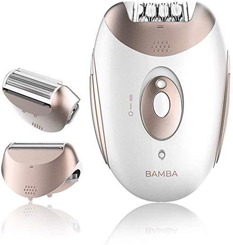Cecotec Depiladora de arranque Bamba SkinCare Depil-Action, con batería de litio, autonomía 40 minutos, waterproof, cabezales intercambiables