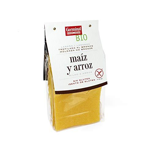 Lasaña bio de maíz y arroz sin gluten - Germinal - 250g